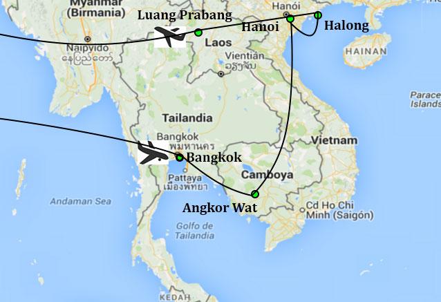 Viaje reflejos indochina reflejos