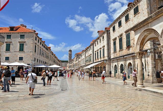 Viaje crucero costa dalmata croacia Dubrovnik ciudad