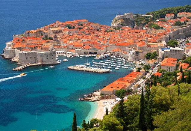 Viaje crucero costa dalmata croacia Dubrovnik puerto