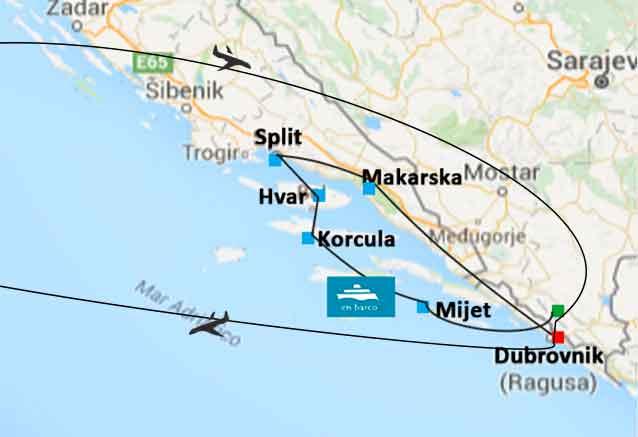 Viaje crucero costa dalmata croacia crucero adriatico