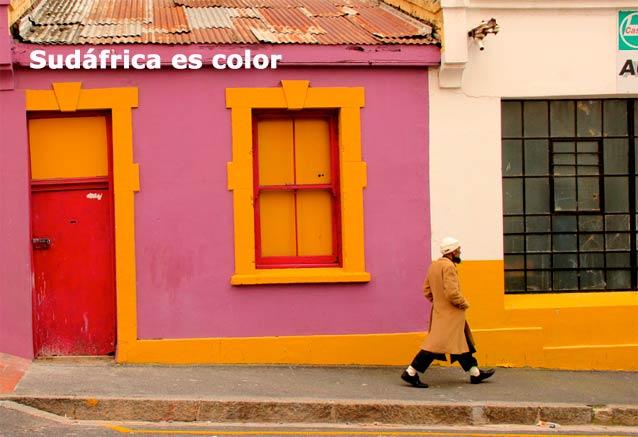 Viaje paisajes sudafrica cataratas sudafrica es color