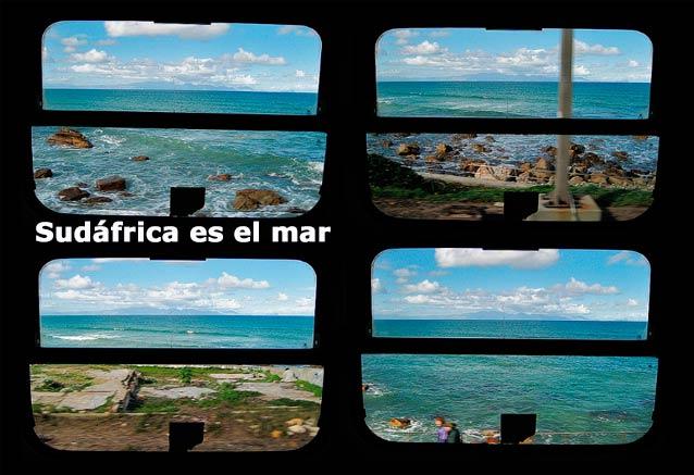 Viaje paisajes sudafrica cataratas sudafrica es el mar