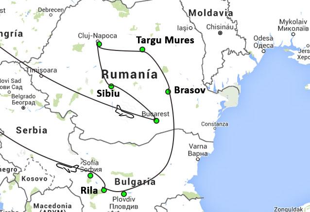 Viaje bulgaria rumania madrid rumania y bulgara