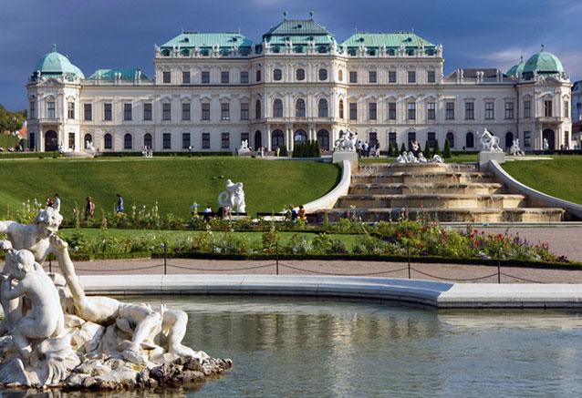 Viaje austria baviera 8 dias palacio de belvedere en viena