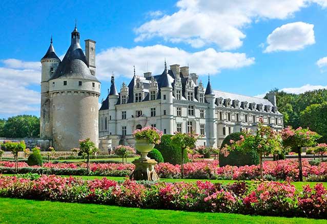 Viaje circuito francia romantica Castillo de Chenonceau en el valle del Loira, por Guillaume Capron