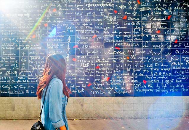 Viaje circuito francia romantica El muro del amor en Paris por Iamhao