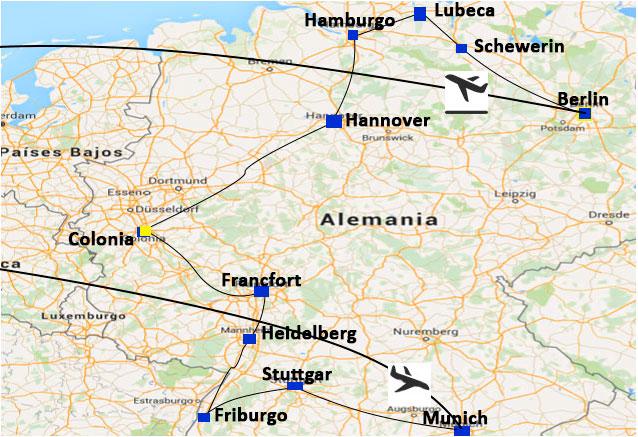 Viaje gran tour alemania puente diciembre alemania