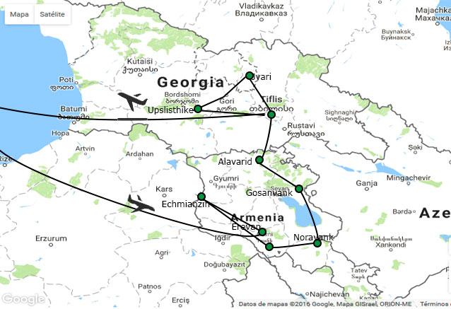 Viaje viaje armenia georgia oferta octubre mas armenia y mas georgia