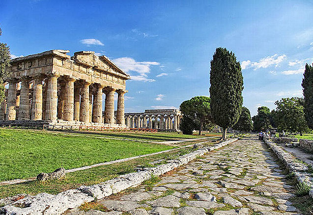 Viaje circuito mini campania italia Paestum en Campania