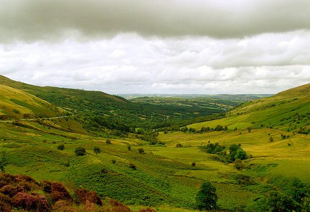 Viaje gales historico inglaterra brecon becons paisaje