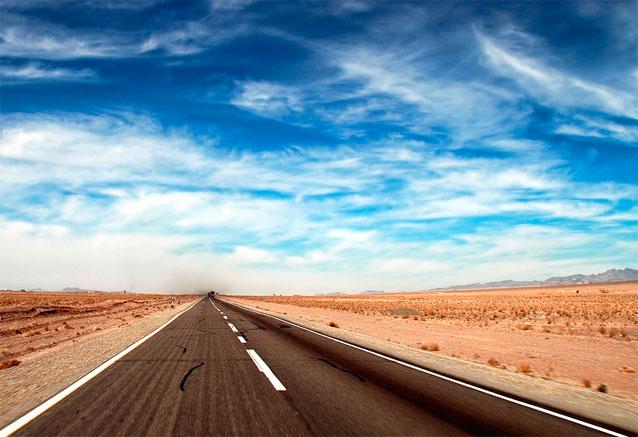 Foto del viaje ofertas iran 12 dias teheran iran carretera a ninguna parte