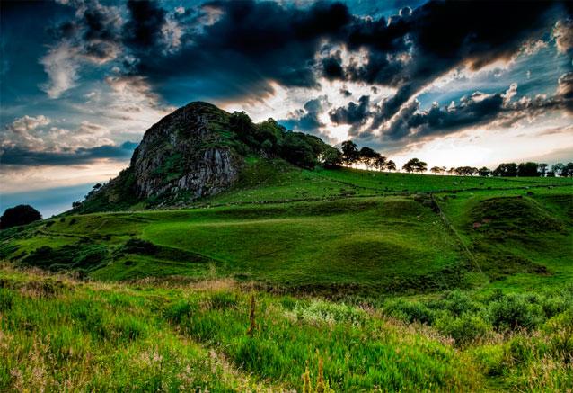 Viaje viajando escocia 8 dias colina de Loudon escocia