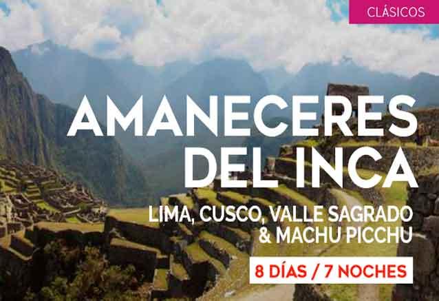 Foto del viaje ofertas amaneceres peru amanaceres del inca