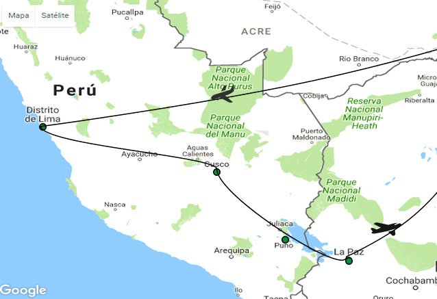 Viaje cultura viva del peru mapa cultura viva