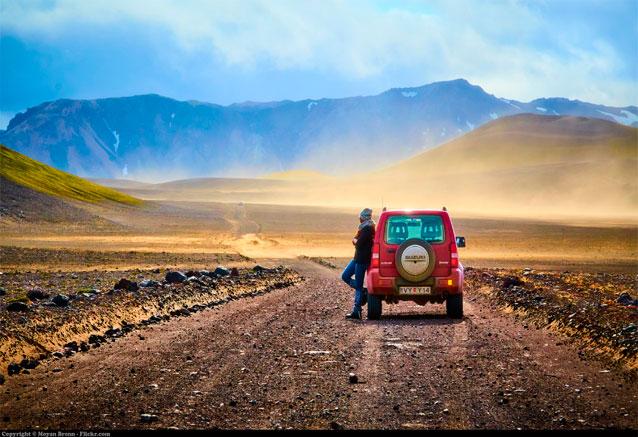 Viaje tierra islandia ballenas glaciares icelandia en coche