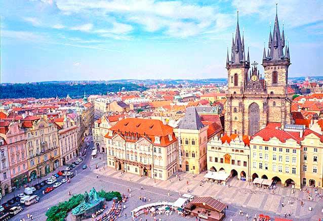 Viaje ciudades imperiales europa central Prague Czech Republic