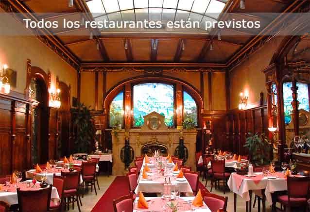 Viaje ciudades imperiales europa central restaurantes praga
