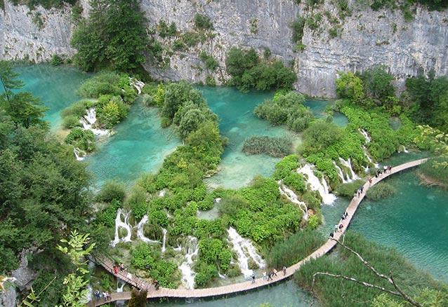 Foto del viaje ofertas croacia bosnia eslovenia 8 dias Lagos Plitvice Croacia