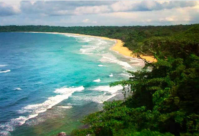 Viaje panama playa ciudad bosque playa bonita panama recondita