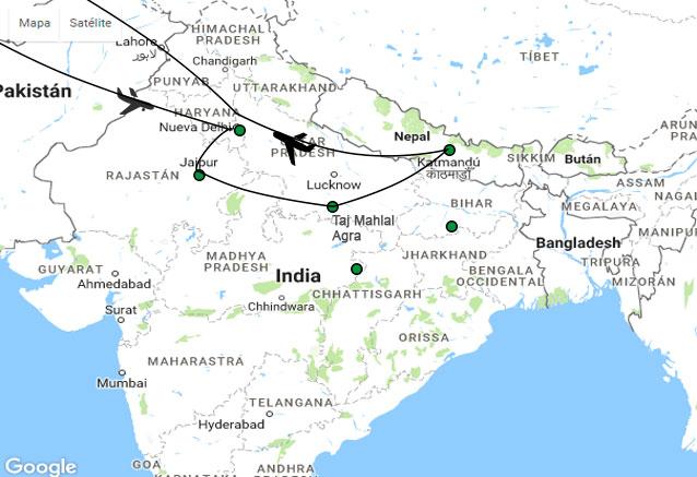 Viaje india nepal cheap india y nepal
