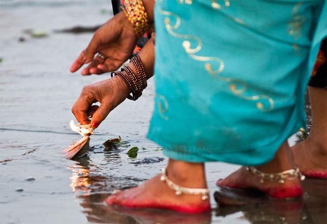 Foto del viaje ofertas viaje india vuelos directos oracion en el ganges