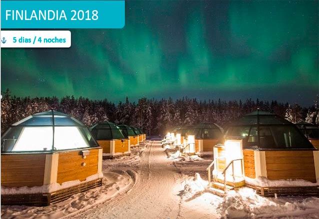 Foto del viaje ofertas auroras boreales iglus auroras iglu rovaniemi
