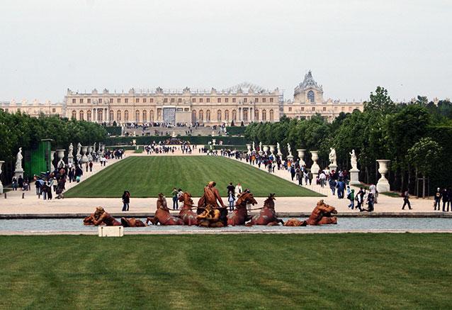 Viaje bellezas francia Versailles Tapis