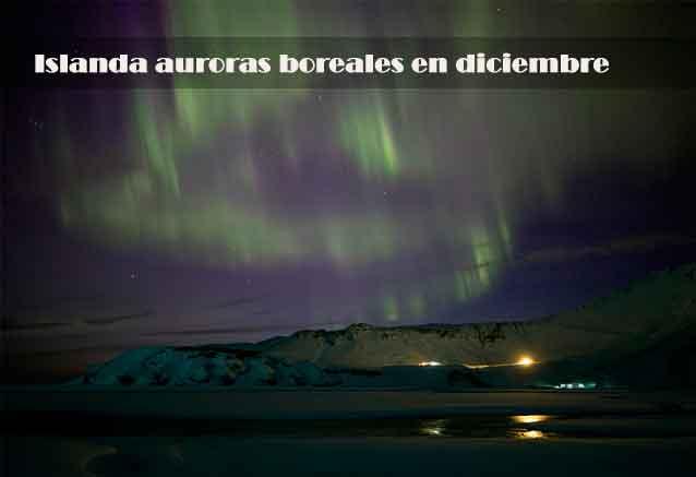 Viaje islandia puente diciembre auroas islanda