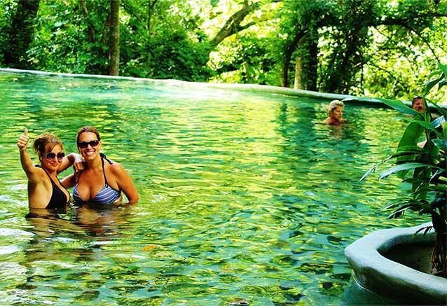 Viaje oferta costa rica libre 4x4 Aguas termales de Vandara, Costa Rica