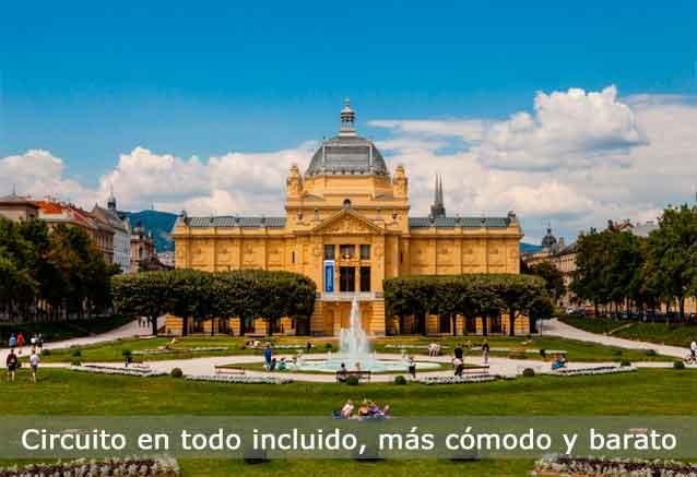 Viaje ciudades historicas europa mas barato zagreb
