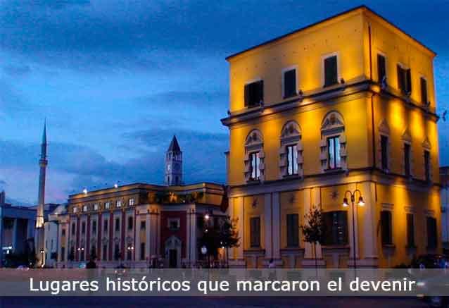 Viaje ciudades historicas europa tirana albania