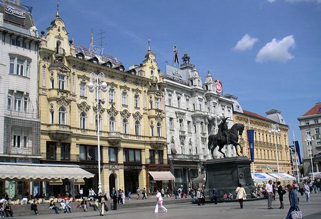 Viaje maravillas eslovenia 8 dias Zagreb trg