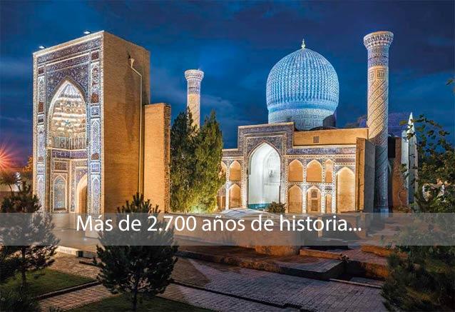 Foto del viaje ofertas uzbekistan ruta samarcanda samarcanda mezquita uzbekistan