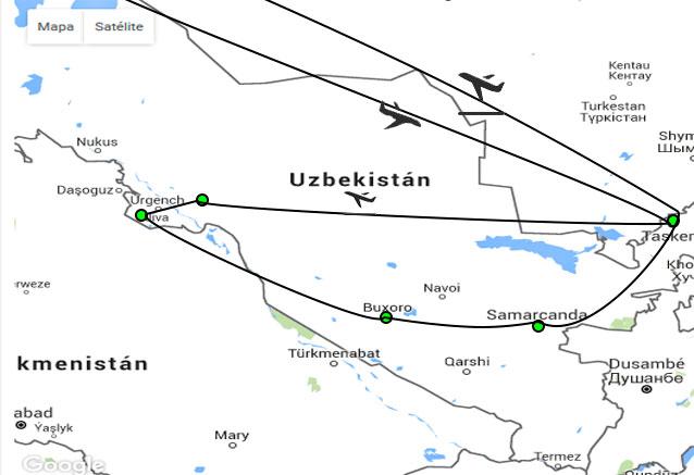 Viaje uzbekistan ruta samarcanda uzbekistan corto
