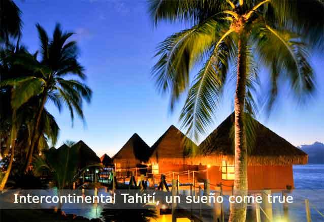 Viaje tahiti hotel lujo precio risa hotel intercontinental tahiti