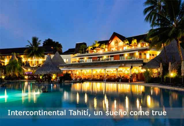 Viaje tahiti hotel lujo precio risa intencontinetal
