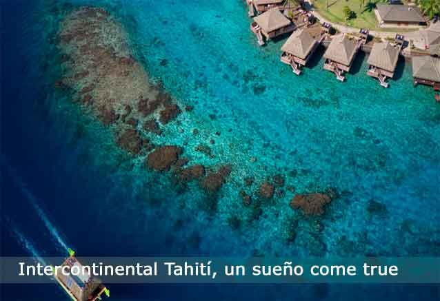 Viaje tahiti hotel lujo precio risa tahiti hotel intercontinental cinco estrellas