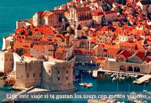 Viaje croacia eslovenia bosnia oferta dbv tour con menos viajeros en croacia
