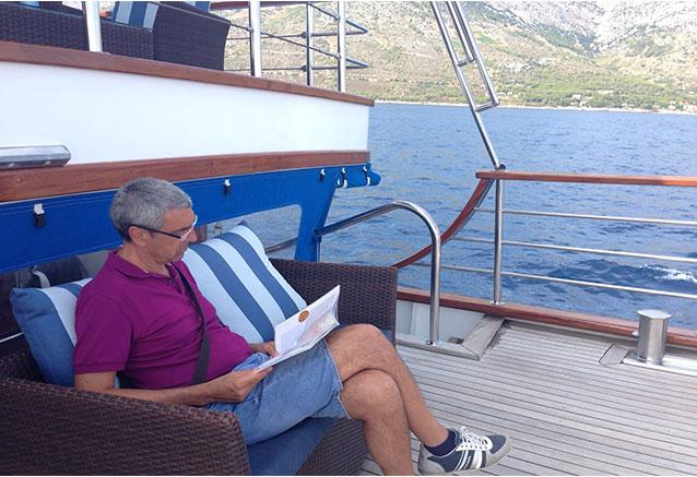 Viaje gran crucero croacia cliente fiel