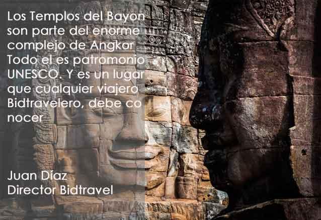 Viaje crucero del mekong angkor templos del bayon en siem rep