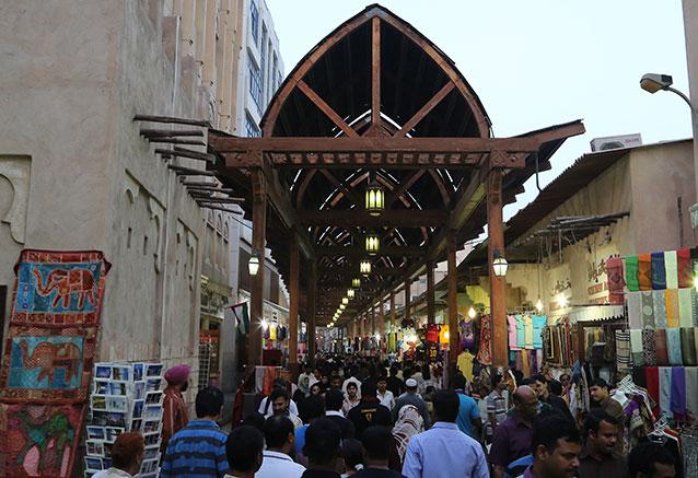 Viaje esencia emiratos arabes zoco