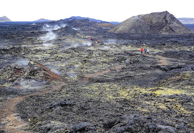 Viaje lo mejor islandia lava
