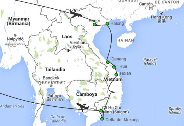 Viaje pinceladas vietnam clasico