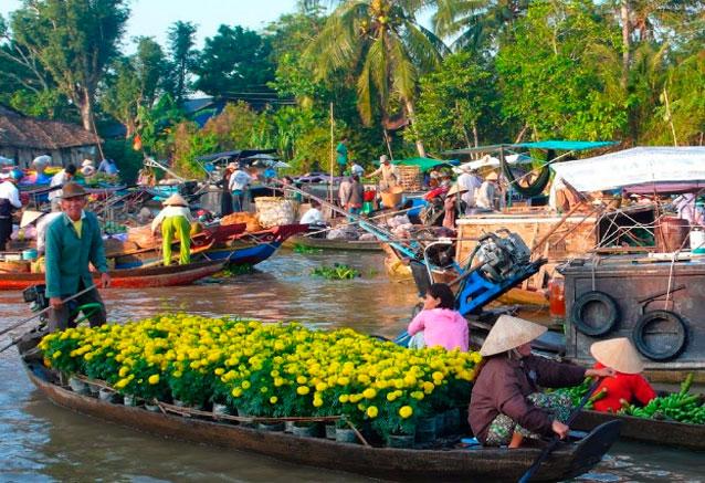 Viaje pinceladas vietnam deltamekongvientam