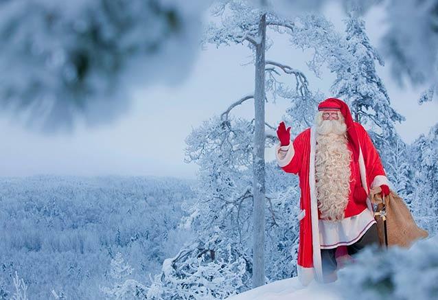 Viaje leyendas invierno laponia Santa Claus