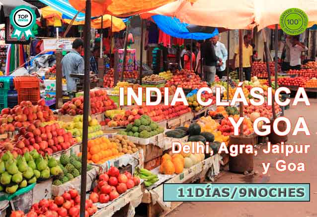 Foto del viaje ofertas delhi agra jaipur goa munbai goa en india con bid