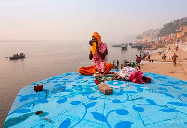 Viaje delhi jaipur agra benares benares en el rio