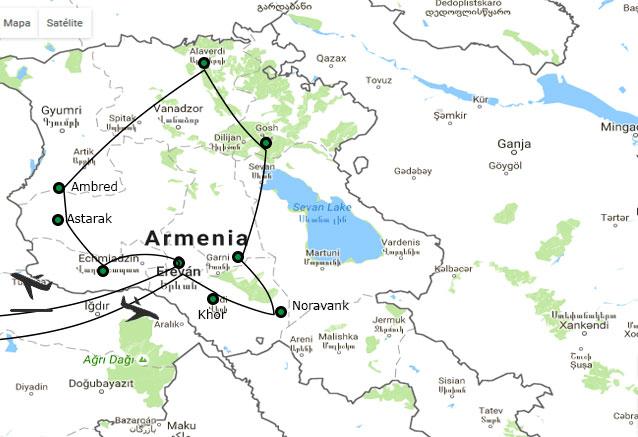 Viaje armenia espectacular Armenia