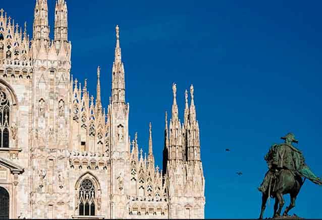 Viaje milan lagos del norte italia milan catedral