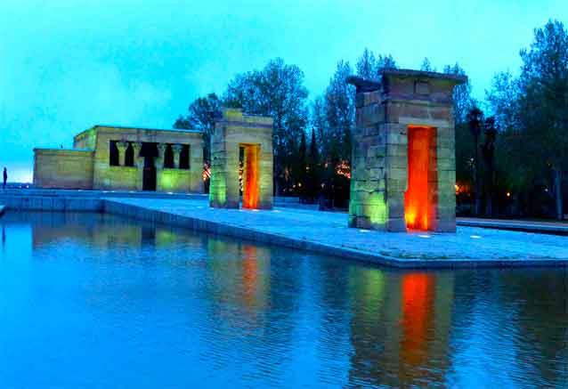 Viaje mini tour europa latina madrid templo